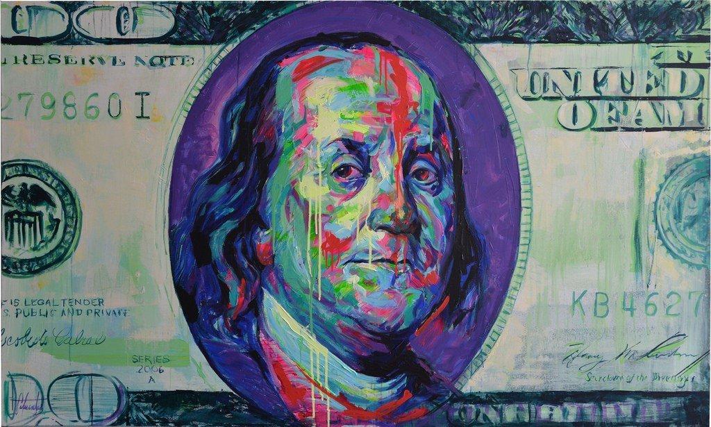 Benjamin Franklin by Luis Carlos Cifuentes