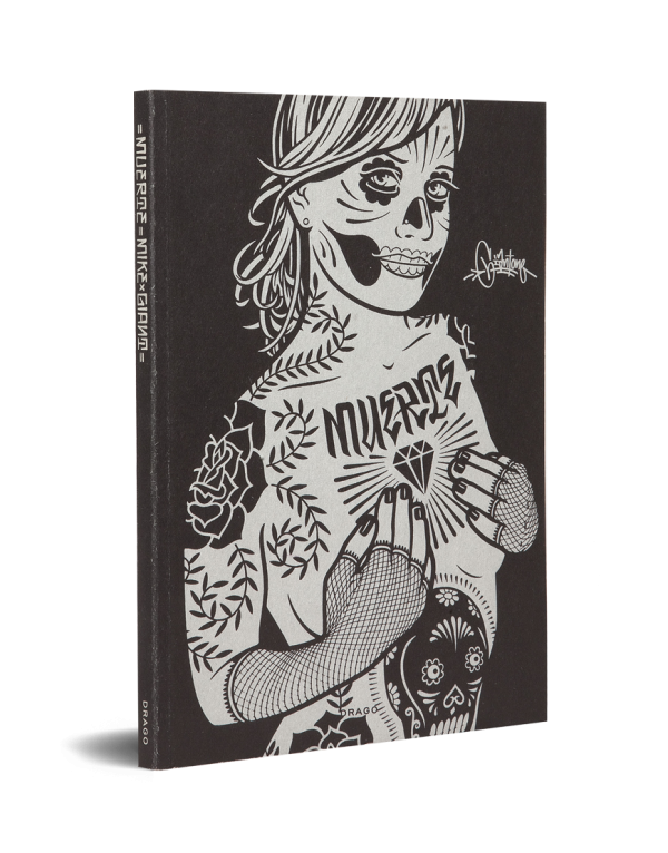 Muerte by Mike Giant Street Tatto Art Book Drago cover
