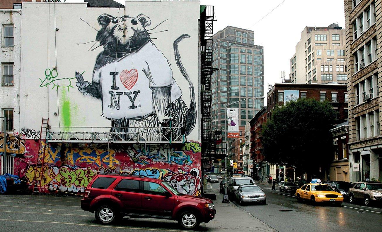 Art from The Streets Magda Danysz Drago bansky