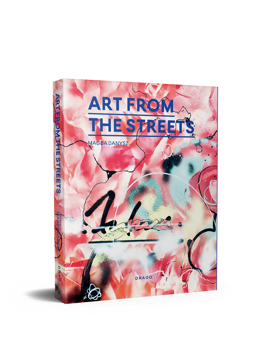 Art from The Streets Magda Danysz Drago cover futura