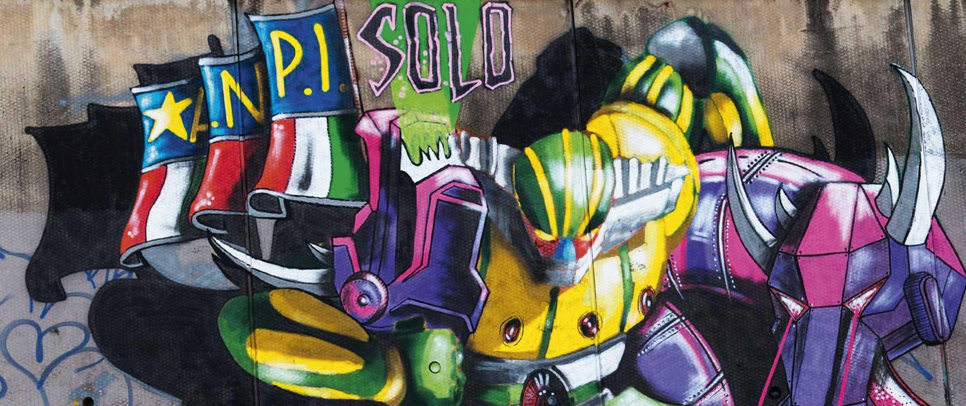 Five roman street artist reinterpret the second half of the twentieth century