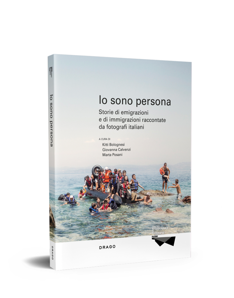 io sono persona curated by Giovanna Calvenzi Io sono Persona by Drago the book of the exhibition