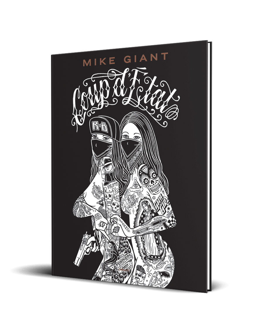 Coup D'Etat Mike Giant Drago cover