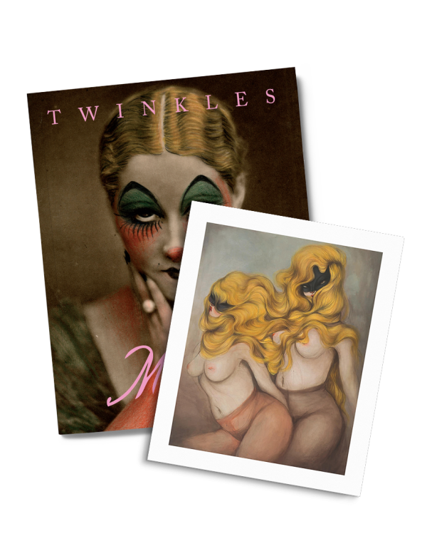 box set limited edition miss van twinkles and wild at heart print by drago