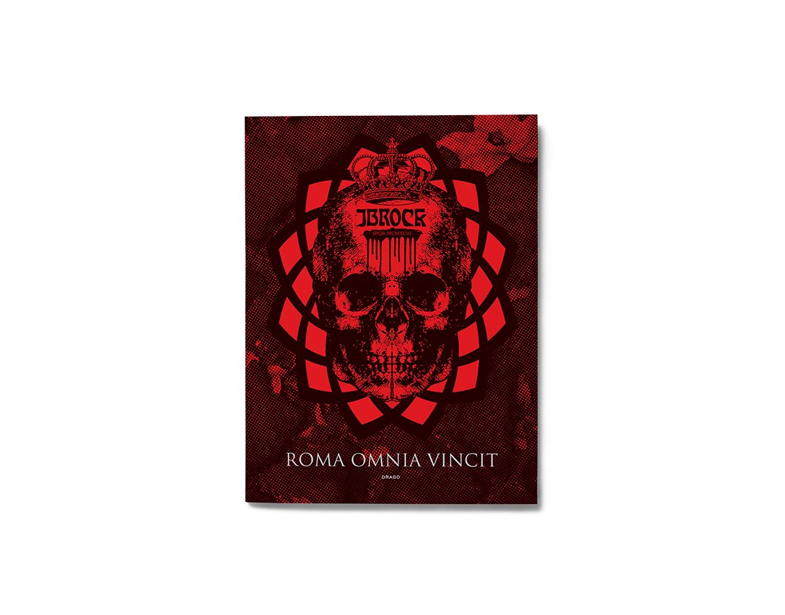 Roma Omnia Vincit JBRock Diamond Drago cover