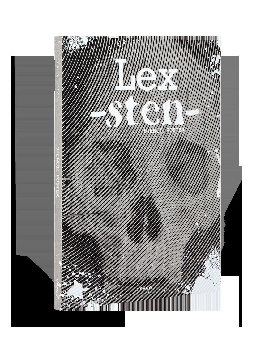Stencil Poster Sten & Lex 36 Chambers Drago cover