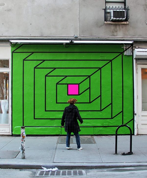 Aakash Nihalani, Portal (2013) Copyright Aakash Nihalani. Courtesy the artist and Wunderkammern Gallery