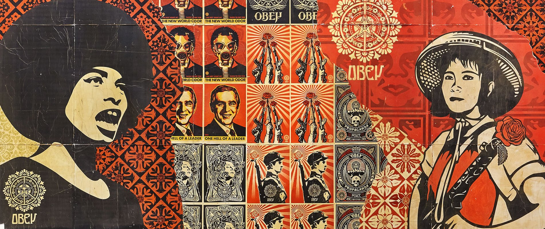 shepard fairey #obey the giant drago publisher