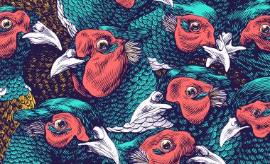 Lucamaleonte A Bunc Of Pheasants