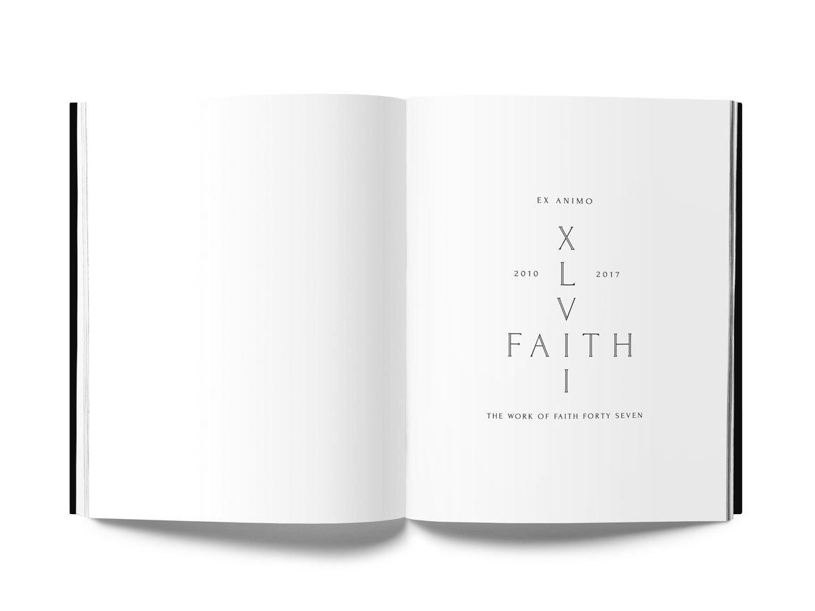 Ex Animo Faith Forty Seven 47 XLVII Street Art Book Drago Publisher