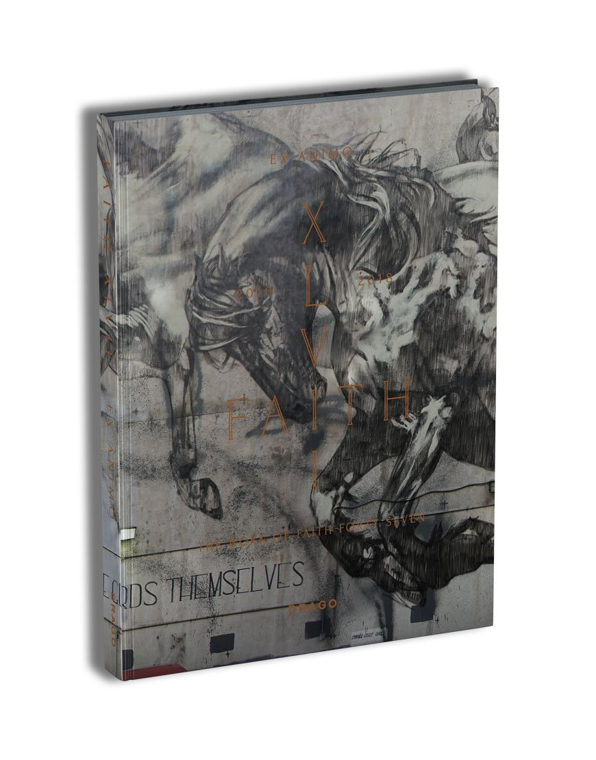 Ex Animo Faith Forty Seven 47 XLVII Street Art Book cover Drago Publisher