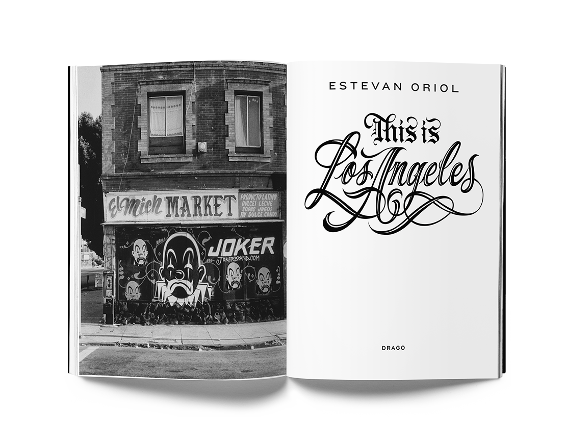 This Is Los Angeles inside 1 by Estevan Oriol Drago Publisher