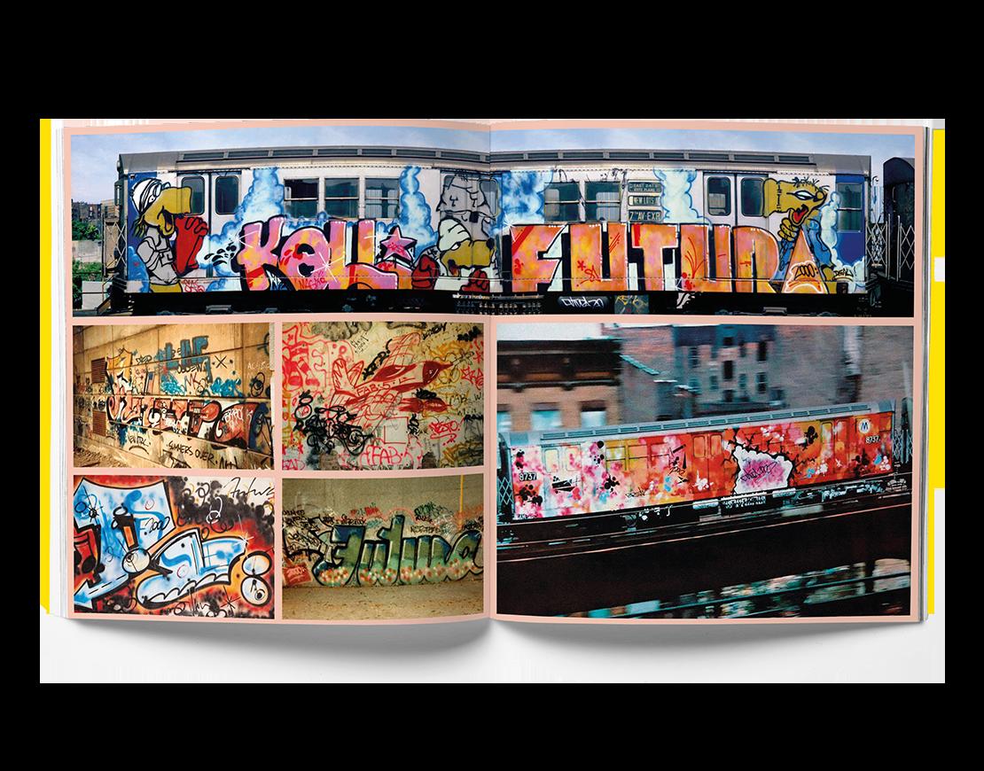 Futura 2000, Full Frame, Street Art book, Graffiti Art book