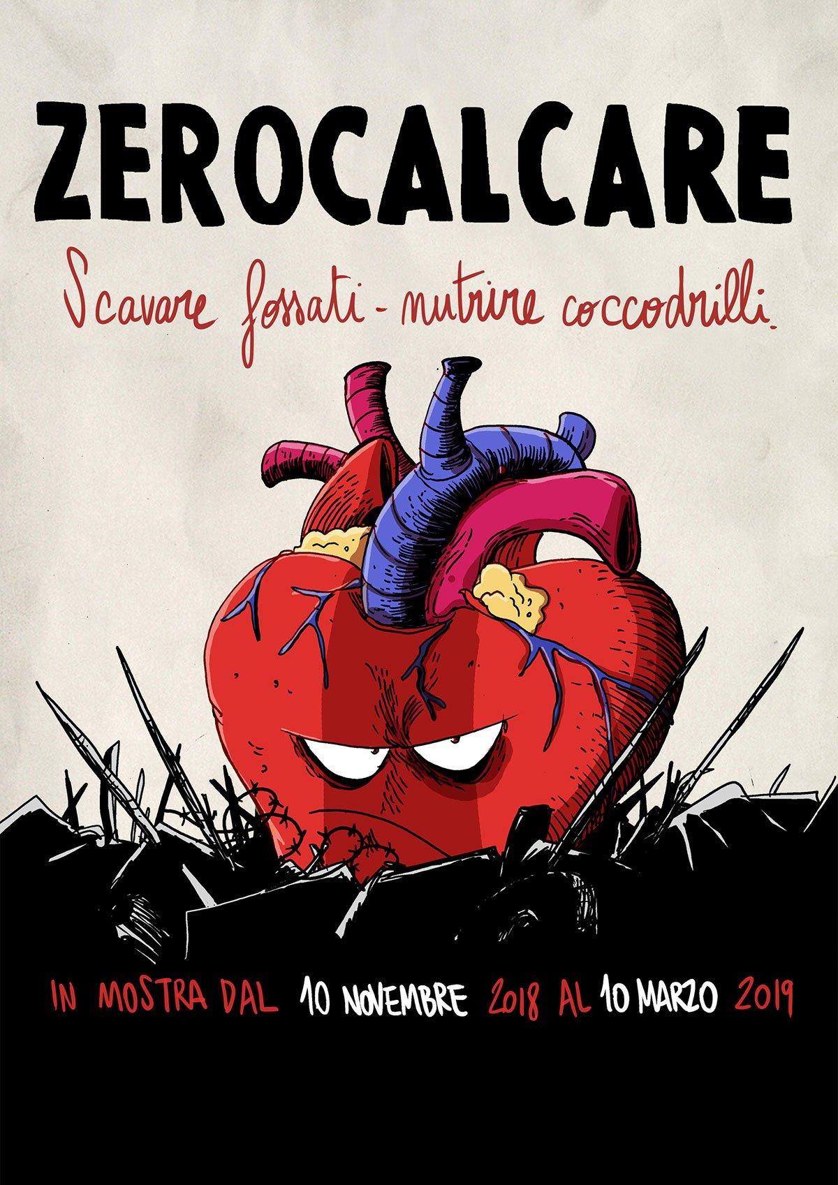 Zerocalcare Cuore, MAXXI, 2018