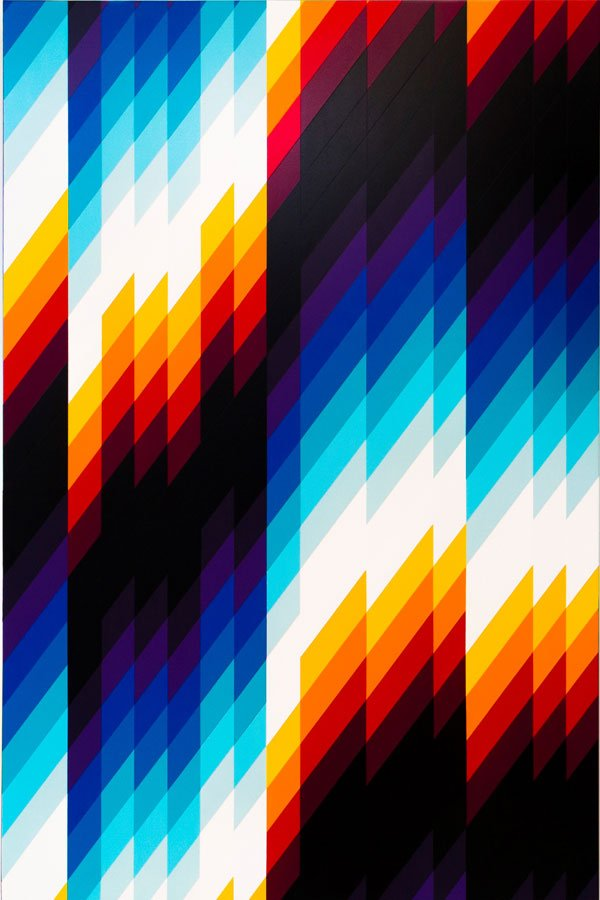 Felipe Pantone, Chromadynamica #76, London, Sotheby's, Against The Wall, Drago Publisher