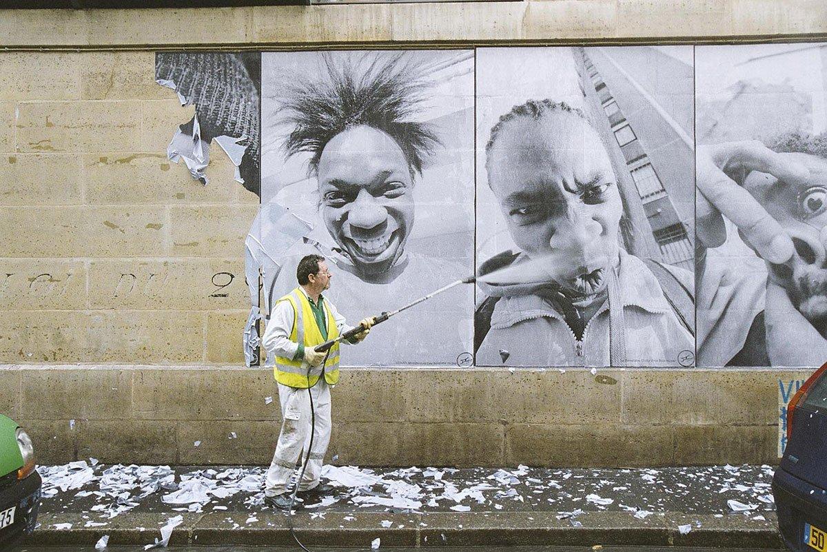 JR | 28 Millimètres, Portrait d'une génération, Kärcher Série, 2006, Momentum, The Museum Of Photography