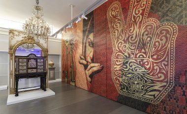 Kraemer Gallery Middle East Mural Obey Shepard Fairey Drago Publisher