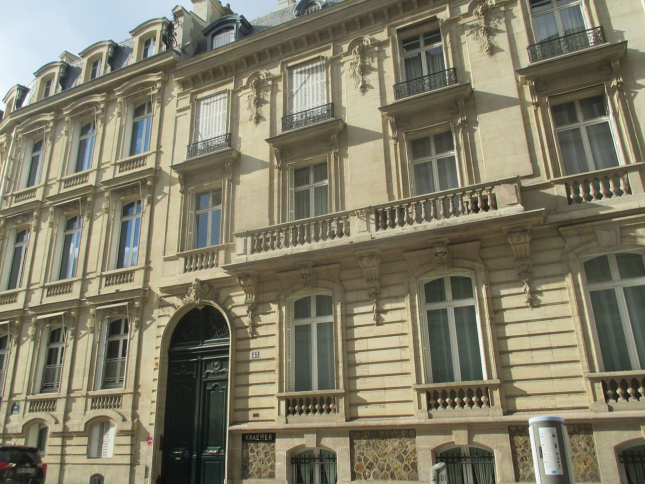 Kraemer Gallery, Paris