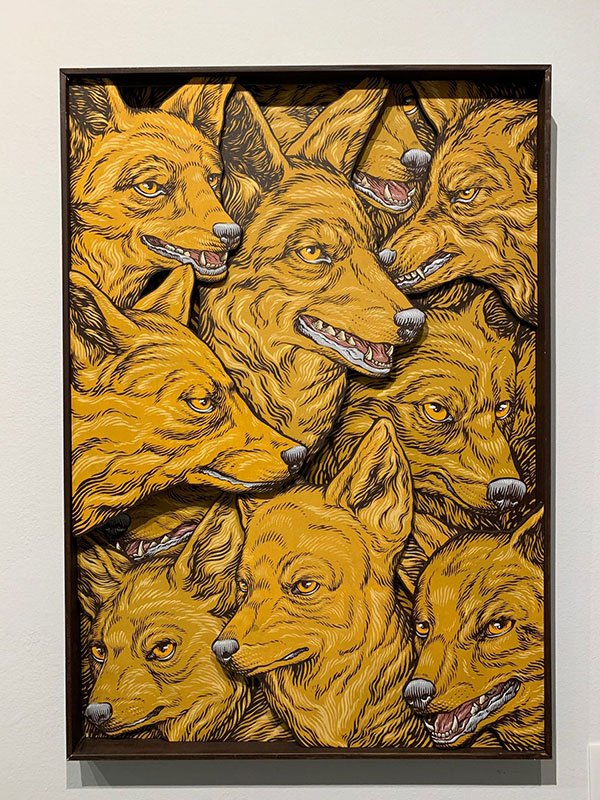 Lucamaleonte, Terra Madre, 7ettanta6ei Gallery, Milan, 2018