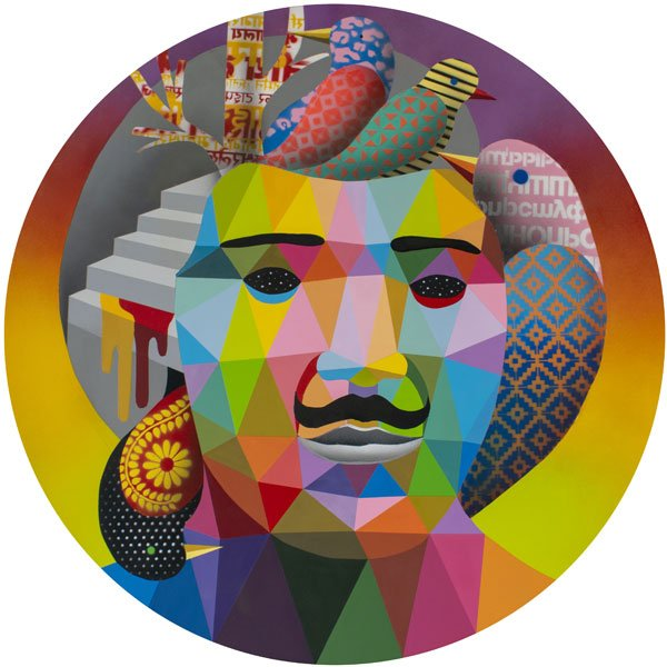 Okuda San Miguel, Birds Inside My Head,