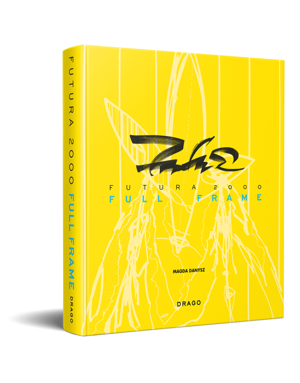 Futura 2000, Full Frame, Street Art book, Graffiti Art book