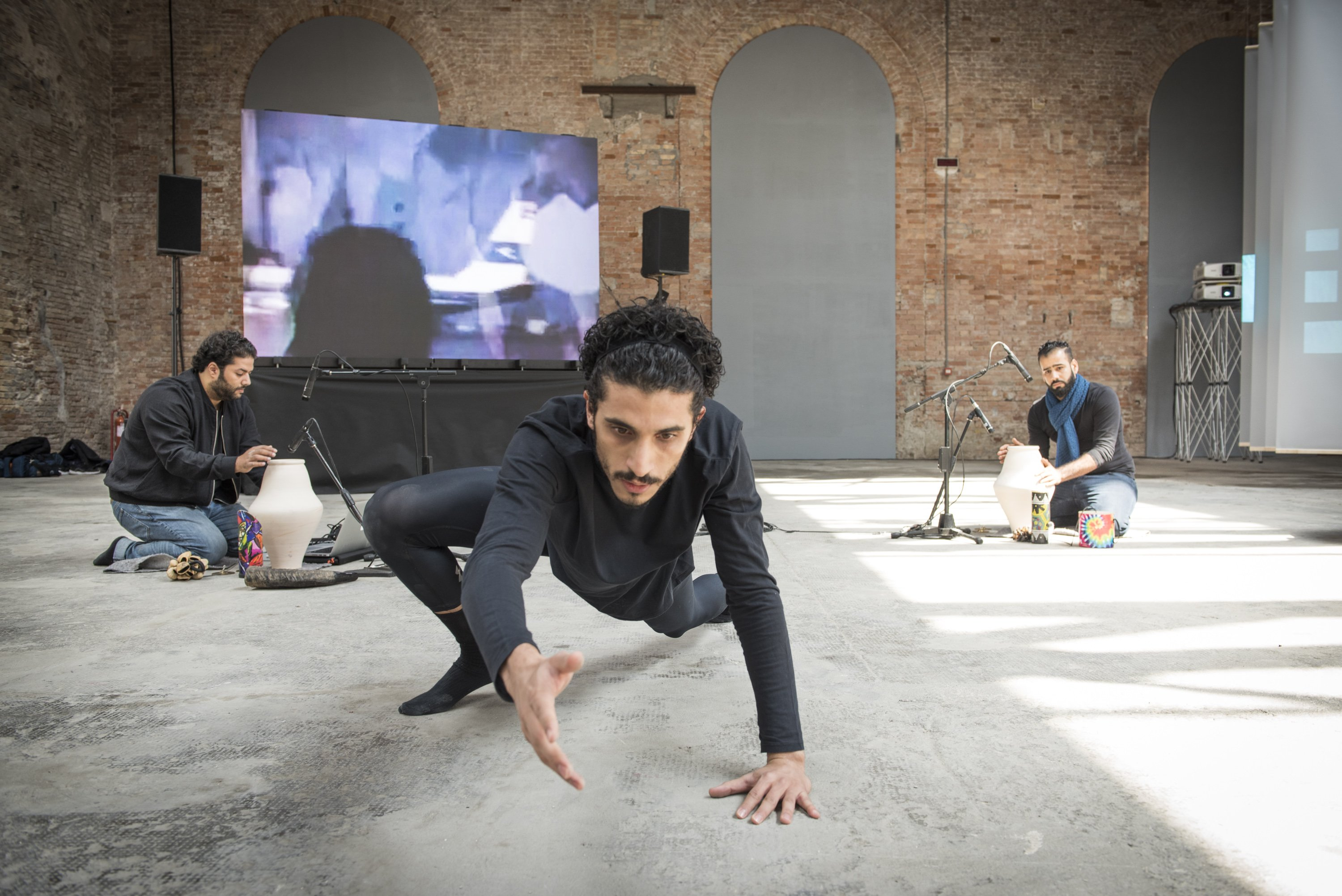 Screening And Performance, Hasan Hujairi, Hashen Al Alawi, Ahmed Saeed