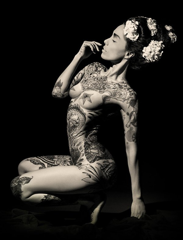 Reka Nyari Shallowriver Geisha Ink Tatto Photography Exhibition
