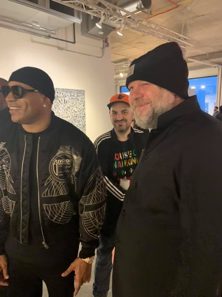 LL Cool J, Roger Gastman, Paulo von Vacano, Beyond The Streets, New York, 2019