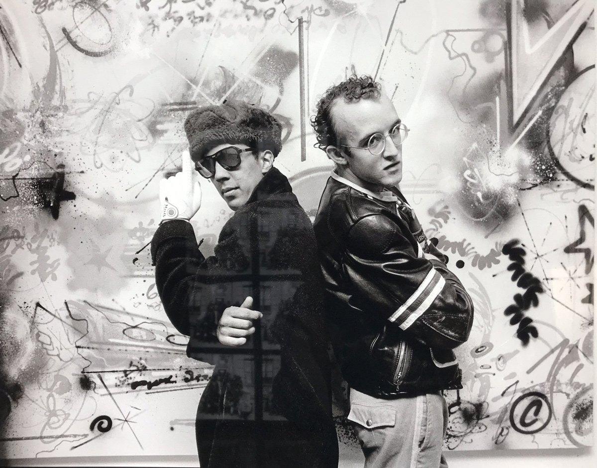 Futura, Keith Haring, Sophie Bramly,1983