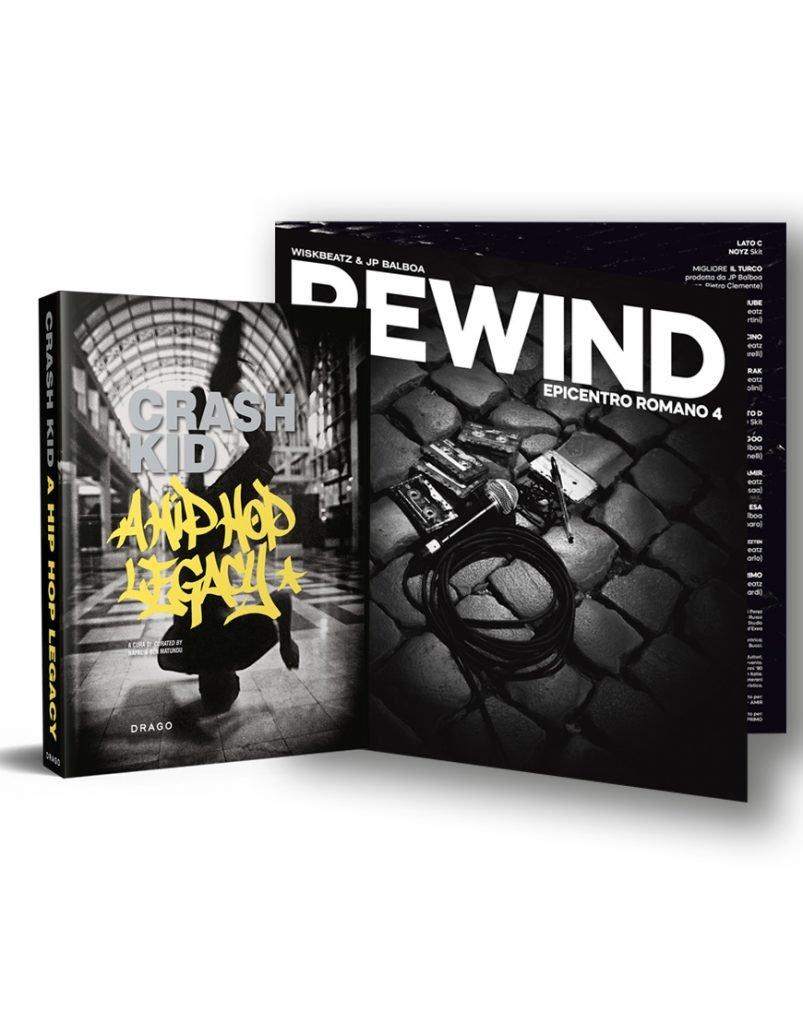 Crash Kid, rewind, Epicentro Romano 4,, Street Art book, Hip Hop