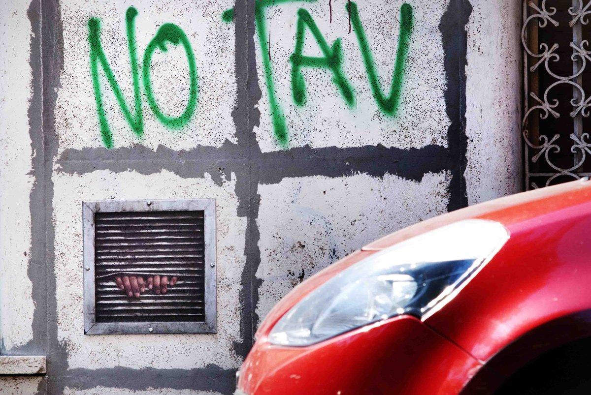 Dan Witz, Baroque art, street art, Rome ,2013