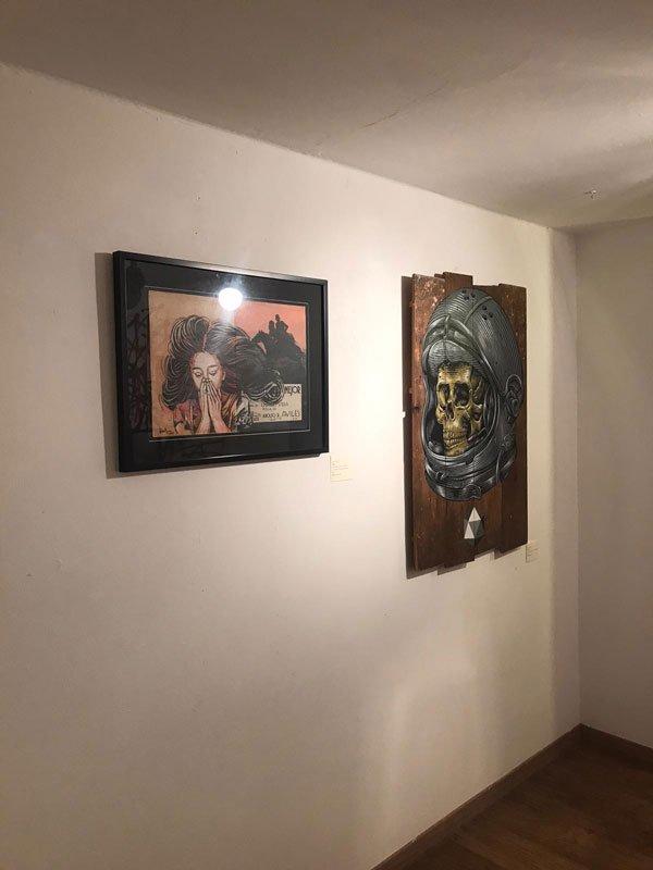 Alice Pasquini, Mejor, Lucamaleonte, Ego, Street Art, street art exhibition, galo art gallery, turin