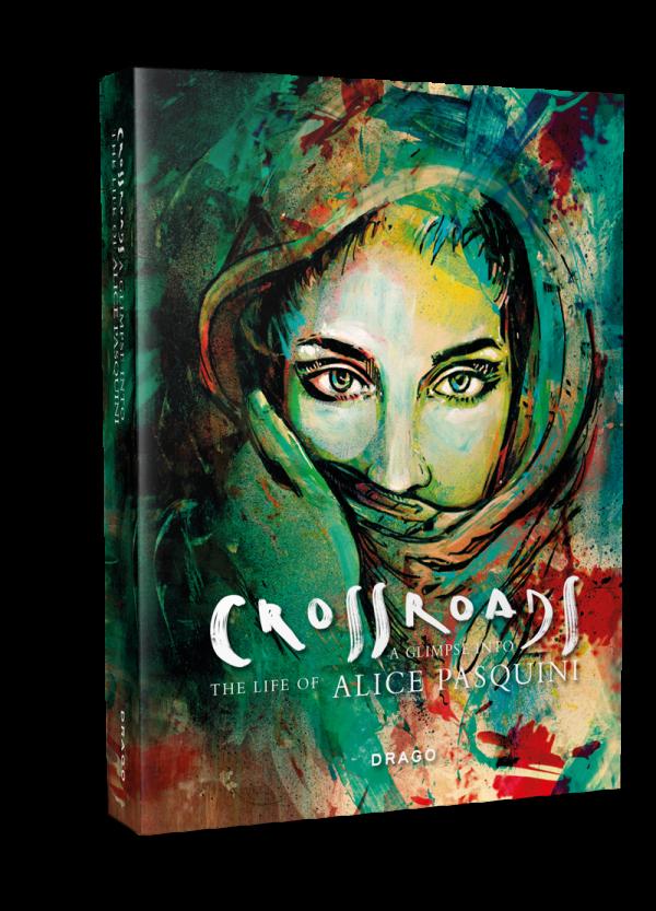 Alice Pasquini, Crossroads, Street art book, Urban Art Book, Graffiti Book