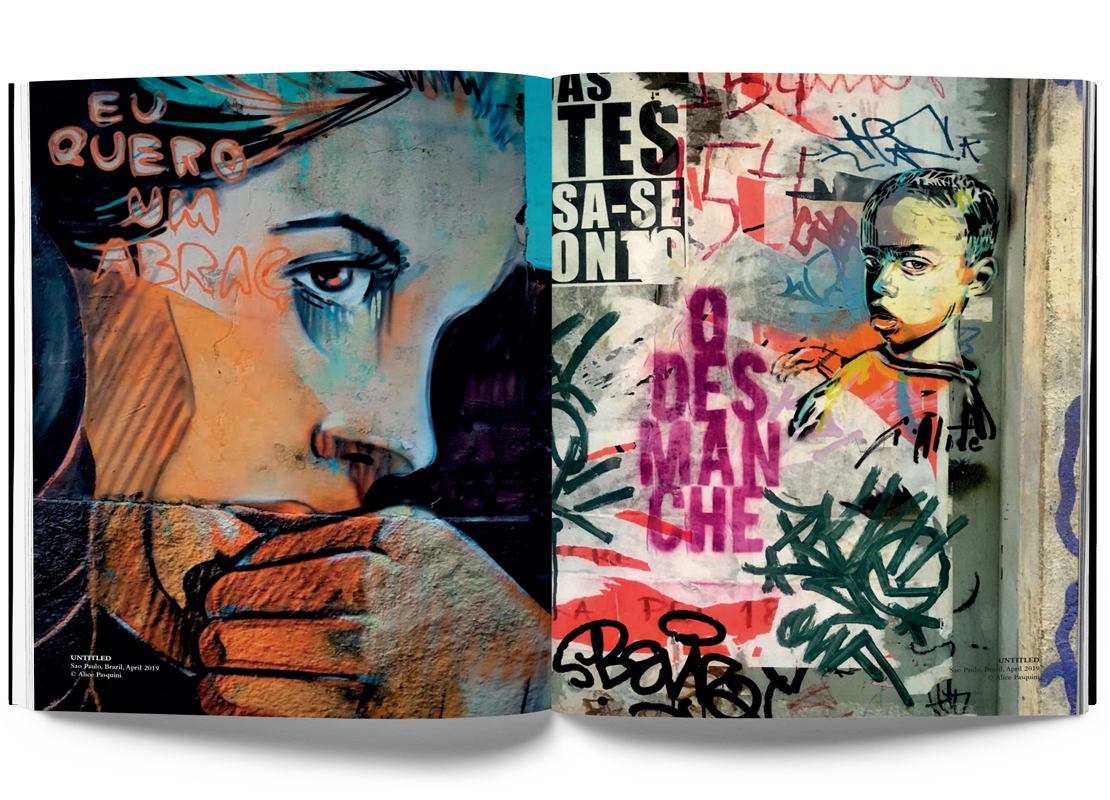Alice Pasquini, Crossroads, Street art book, Urban Art Book, Graffiti Book