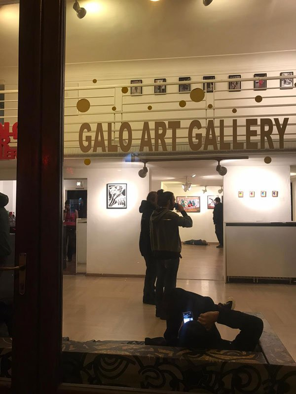 Galo Art Gallery, Turin, 2019, Street Art exhibition, Memento mori