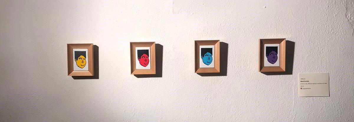 JBRock, minicicciolo, galo art gallery, street art, ciccio, turin, 2019