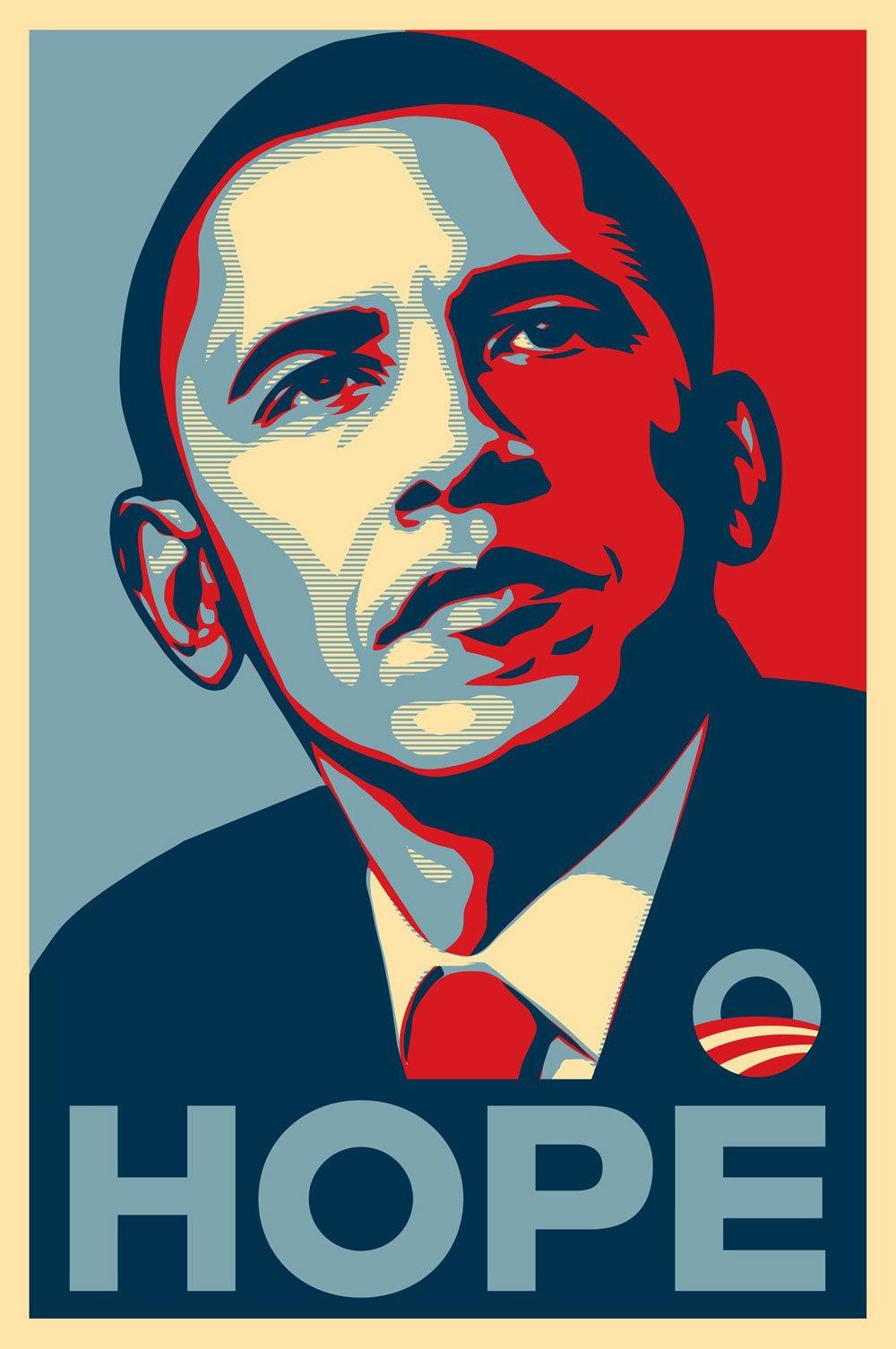 Shepard Fairey, Obey, Street Art, Street Art exhibition, obama, hope
