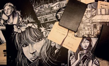 Alice Pasquini Sketchbook