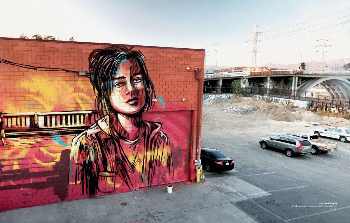 Alice Pasquini, Zynderia Studios, Los Angeles, USA, Street Art, Mural