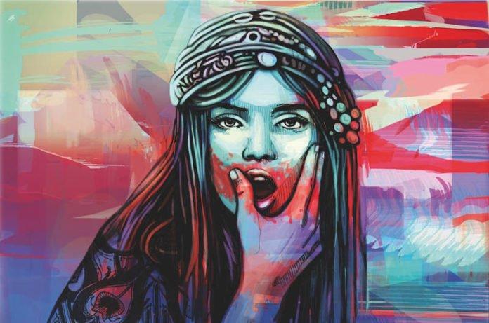 Alice Pasquini, Salome, Street Art, Graffiti Bologna