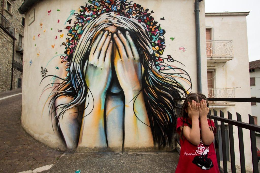 Alice Pasquini, Street Art, Graffiti, Jessica Stewart, Civitacampomarano