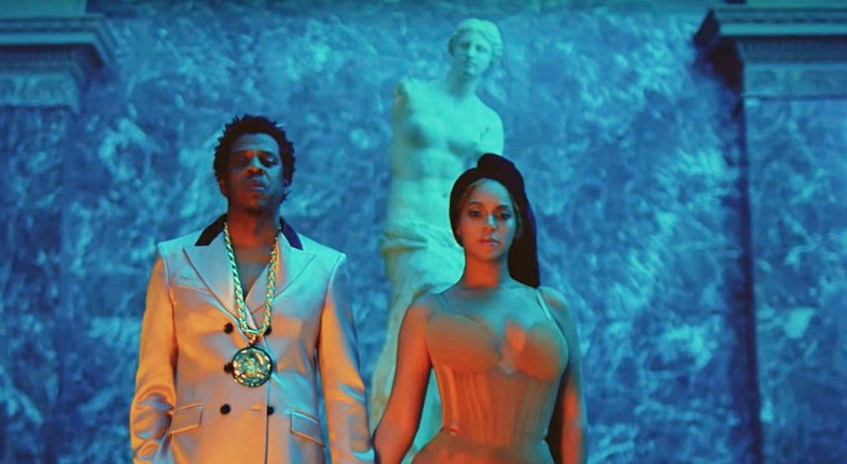 Beyoncé, Jay z, the carters, louvre musum, venus de milo, hip hop