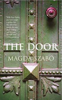 22) Which books are on your nightstand The Door