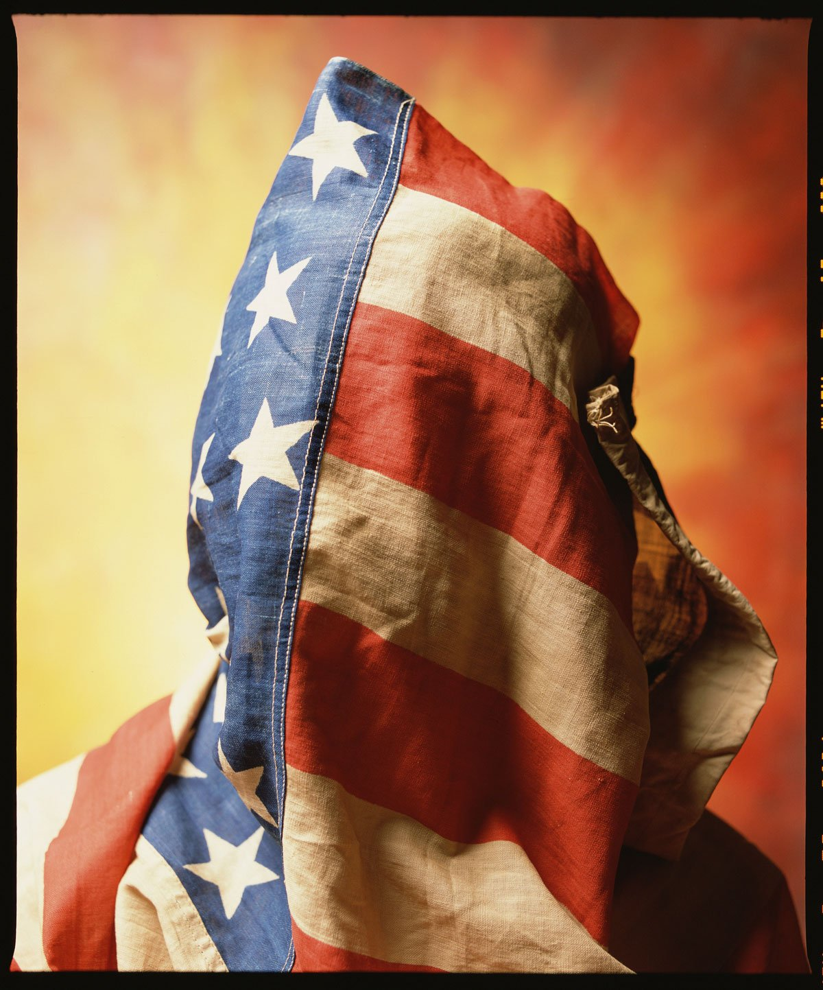 Flag Face, Andres Serrano, Photography