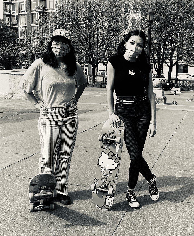 Skateboarders Brooklyn, Janette Beckman, Street Photography