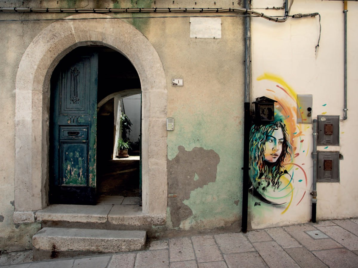 Alice Pasquini, Crossroads, Stree