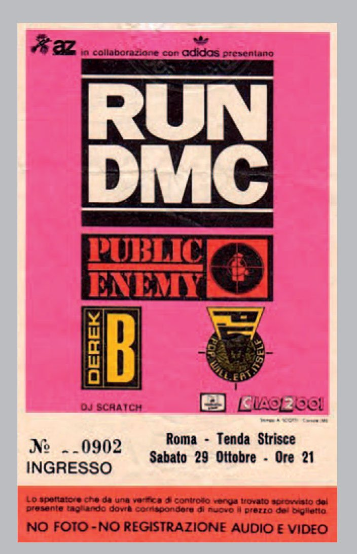 RUN DMC, Public Enemy, Rome, Poster, Hip Hop