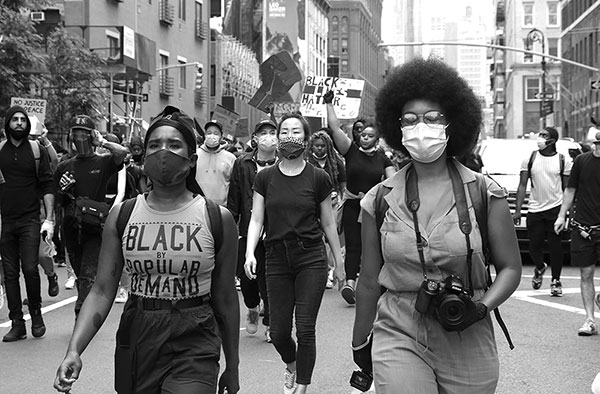 Janette Beckman. Black Lives Matter, Street Photography