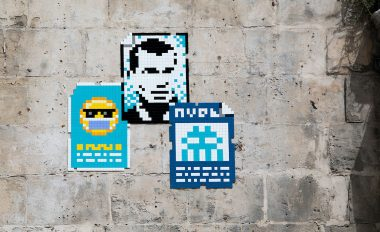 Invader, Invader was Here, Marseille, 2020