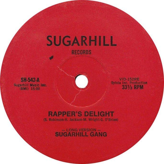 Sugarhill Gang, Rap, Hip Hop, Vinyl, Rapper's Delight